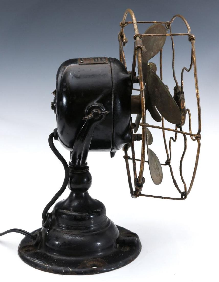 AN EMERSON 8-INCH STEP BASE YOKE FAN, CIRCA 1912 - 10