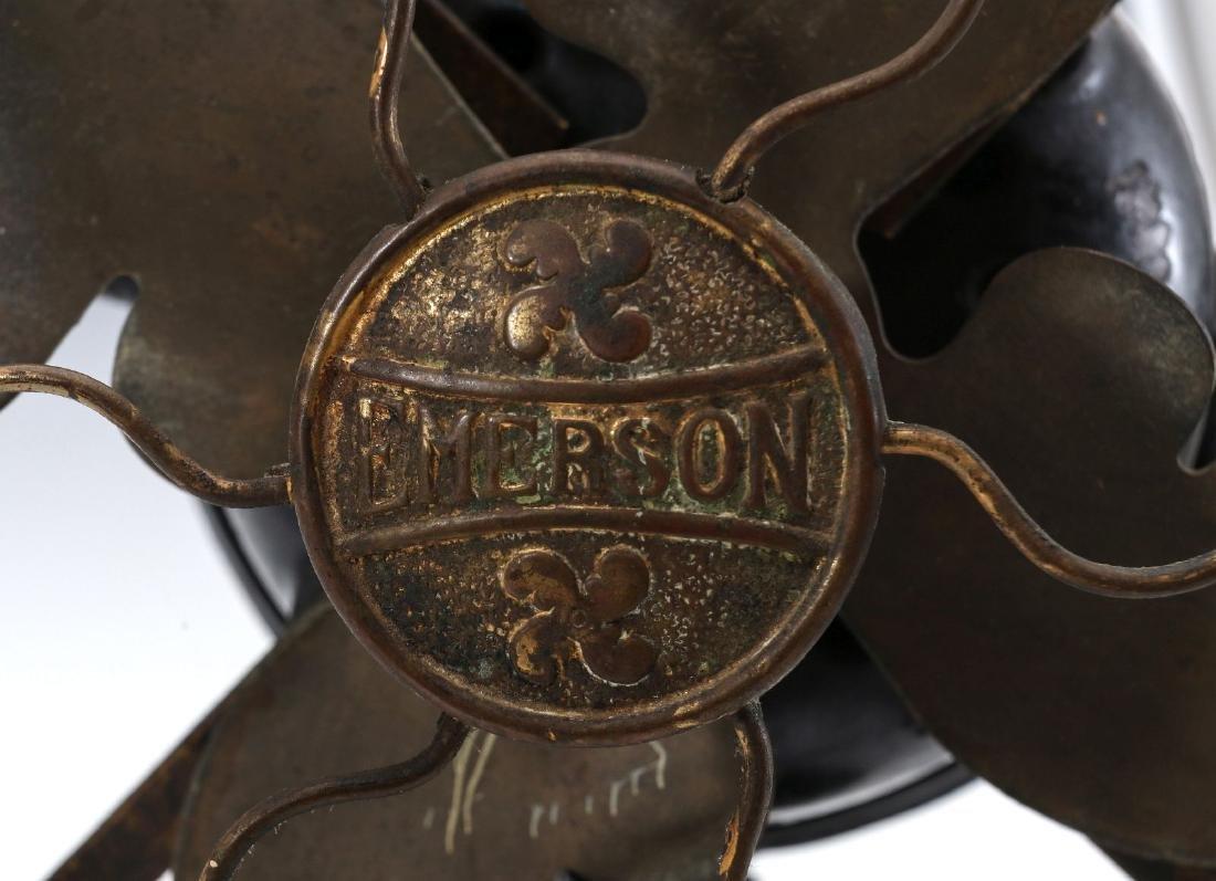 AN EMERSON 8-INCH STEP BASE YOKE FAN, CIRCA 1912 - 4
