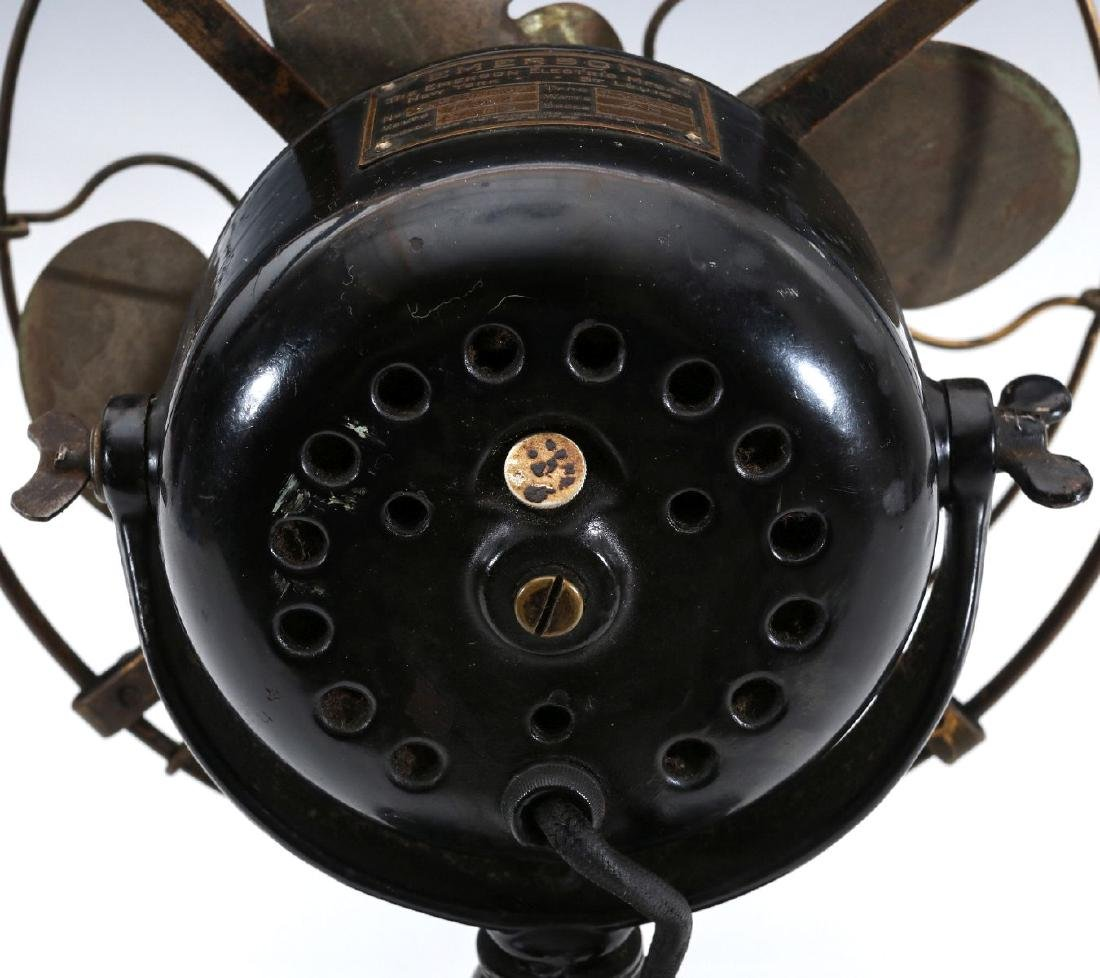 AN EMERSON 8-INCH STEP BASE YOKE FAN, CIRCA 1912 - 7