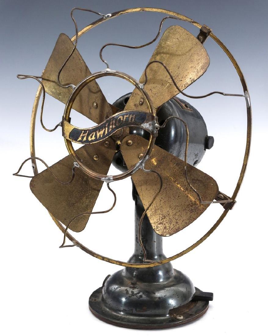 A WESTERN ELECTRIC HAWTHORN ALL-BRASS FAN, C. 1904