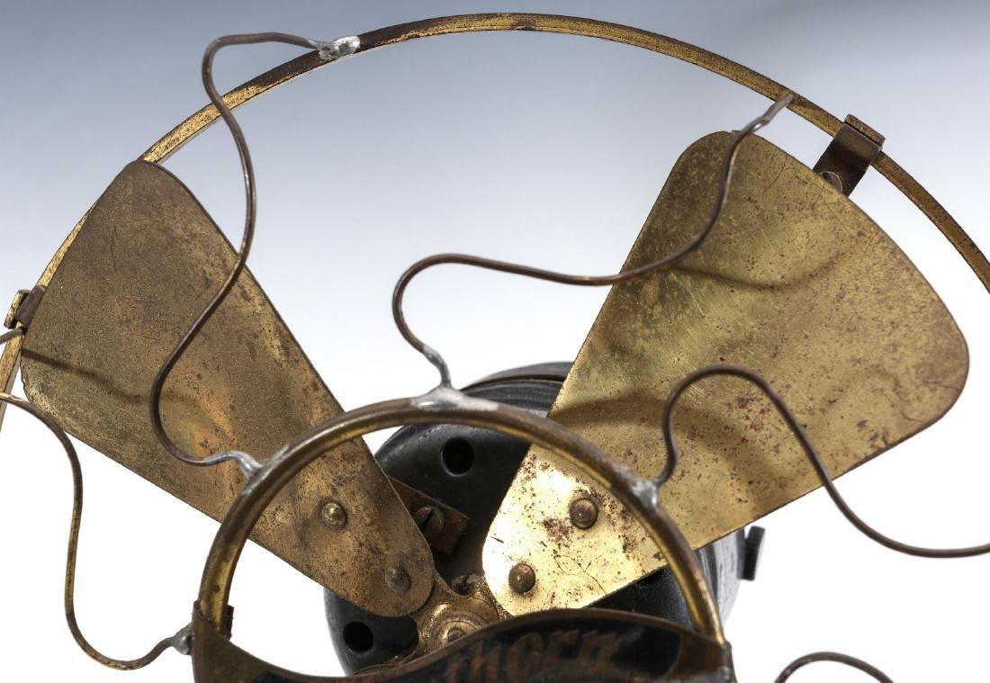 A WESTERN ELECTRIC HAWTHORN ALL-BRASS FAN, C. 1904 - 2