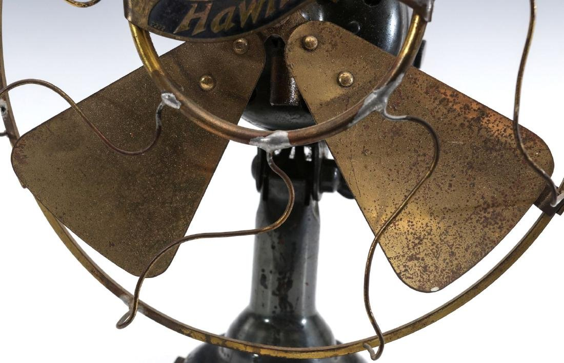 A WESTERN ELECTRIC HAWTHORN ALL-BRASS FAN, C. 1904 - 3