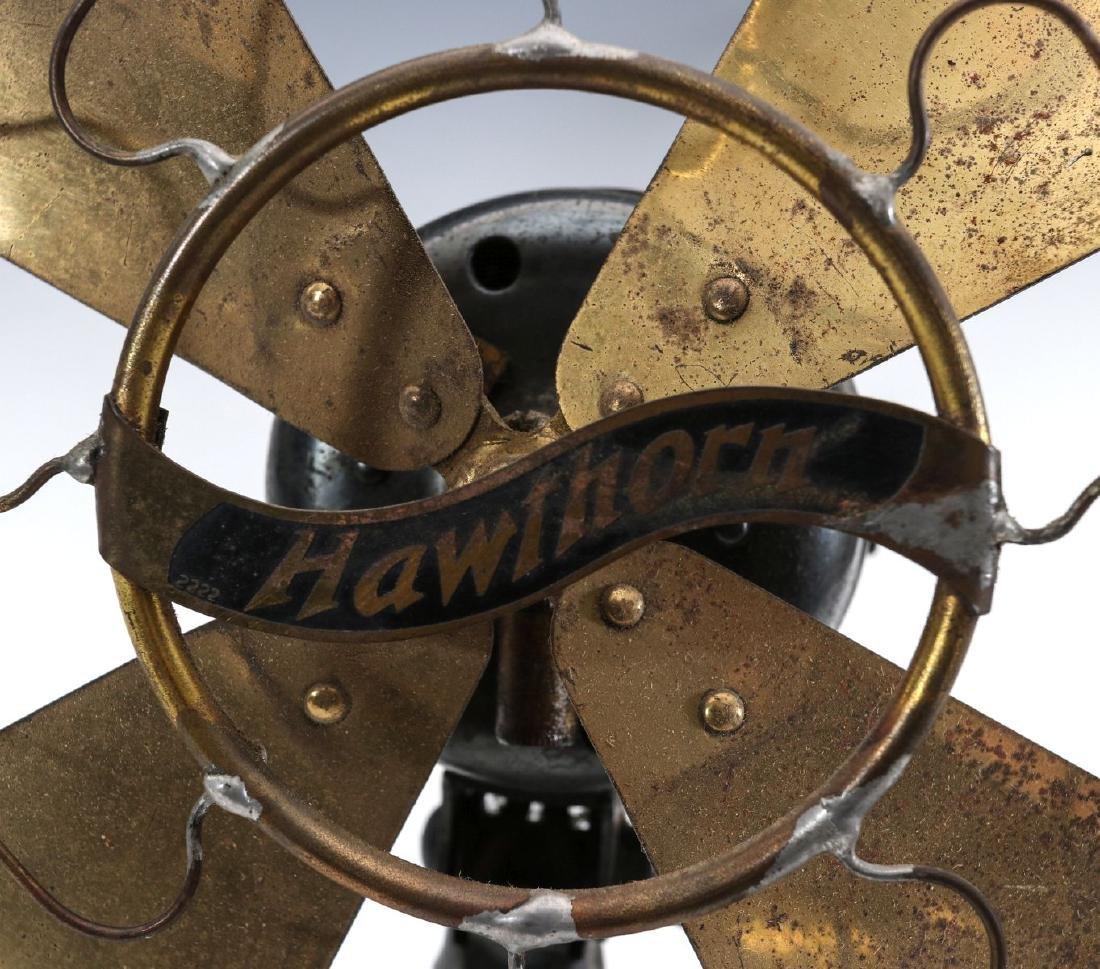 A WESTERN ELECTRIC HAWTHORN ALL-BRASS FAN, C. 1904 - 4