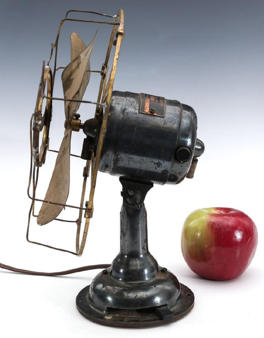 A WESTERN ELECTRIC HAWTHORN ALL-BRASS FAN, C. 1904 - 5