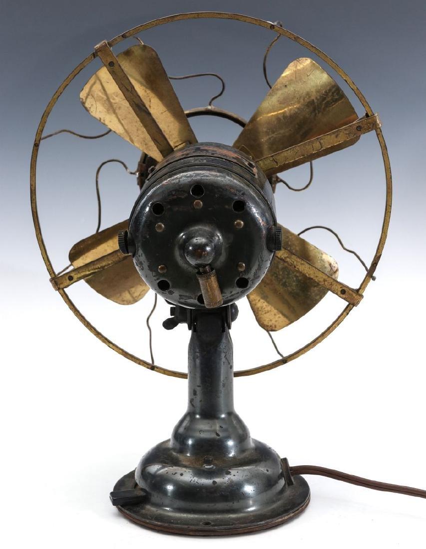 A WESTERN ELECTRIC HAWTHORN ALL-BRASS FAN, C. 1904 - 8