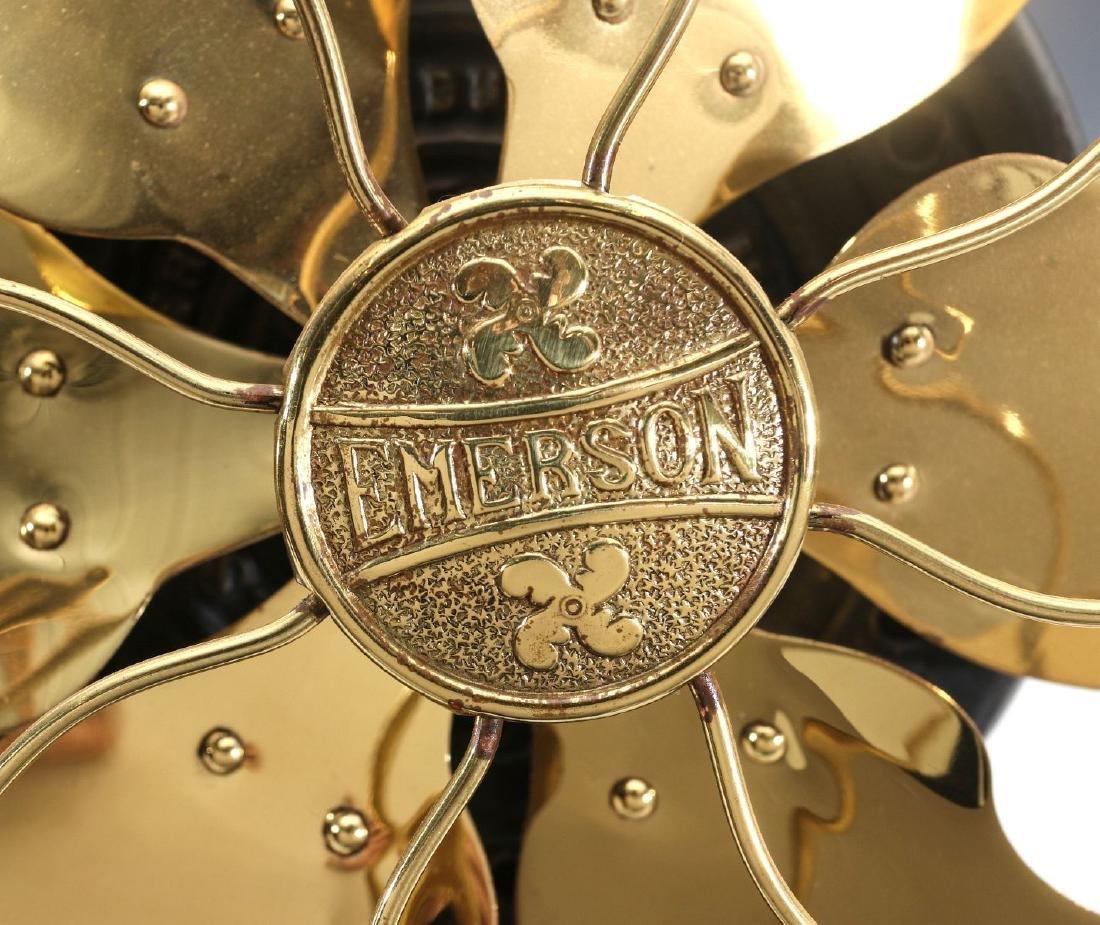 AN EMERSON RIBBED BASE FAN CIRCA 1908 - 4