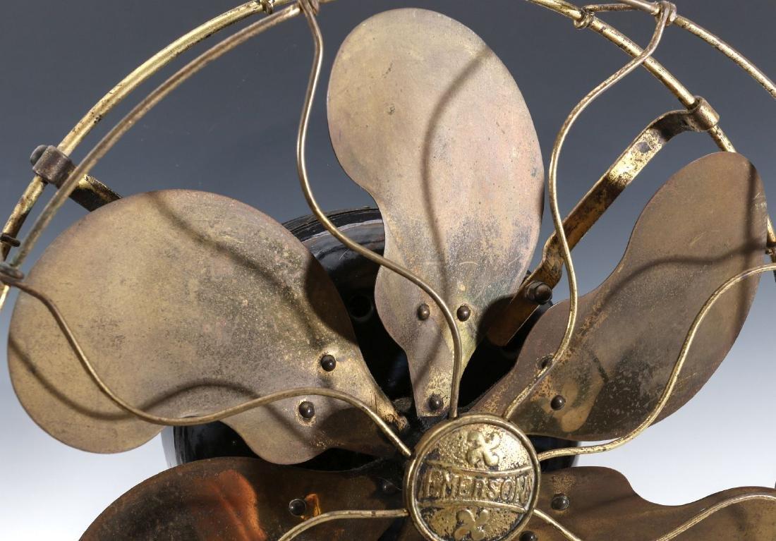 AN EMERSON STEP BASE SIX BLADE FAN CIRCA 1912 - 2