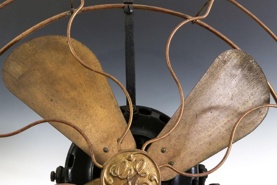 A GENERAL ELECTRIC YOKE MOUNT FAN, CIRCA 1901 - 3