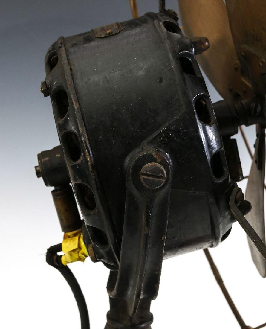 A GENERAL ELECTRIC YOKE MOUNT FAN, CIRCA 1901 - 7