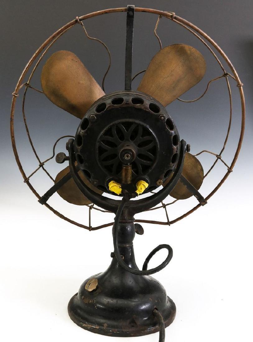 A GENERAL ELECTRIC YOKE MOUNT FAN, CIRCA 1901 - 8