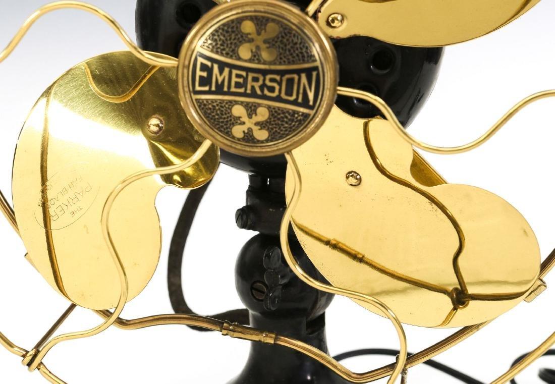 AN EMERSON 9-INCH STEP BASE ELECTRIC FAN C. 1917 - 3