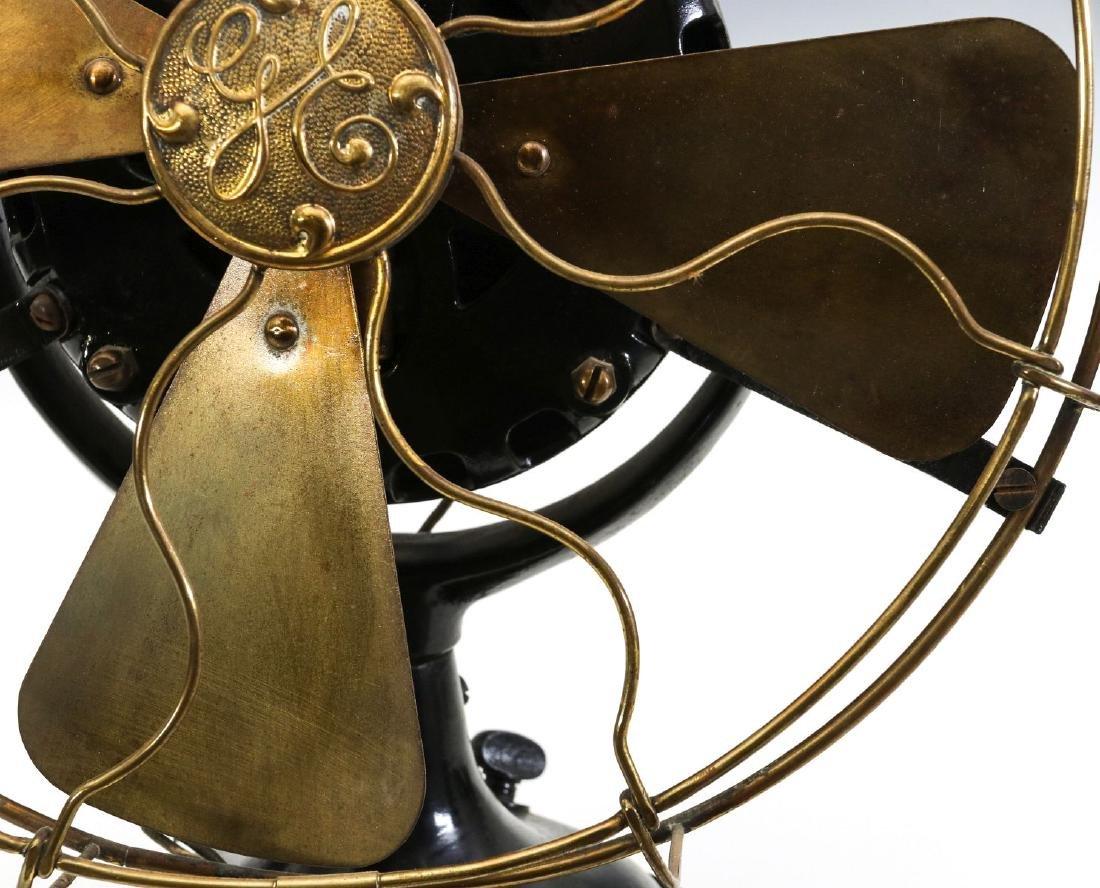 A GENERAL ELECTRIC PANCAKE MOTOR YOKE FAN, C. 1901 - 3