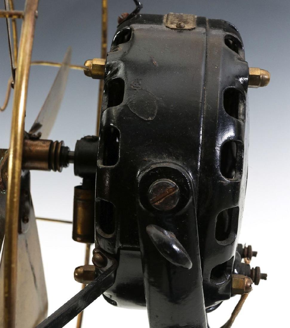 A GENERAL ELECTRIC PANCAKE MOTOR YOKE FAN, C. 1901 - 7