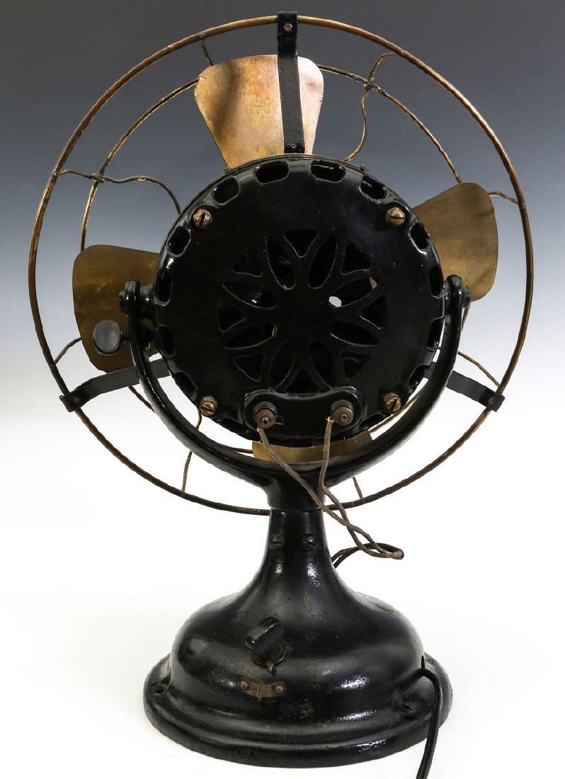 A GENERAL ELECTRIC PANCAKE MOTOR YOKE FAN, C. 1901 - 8
