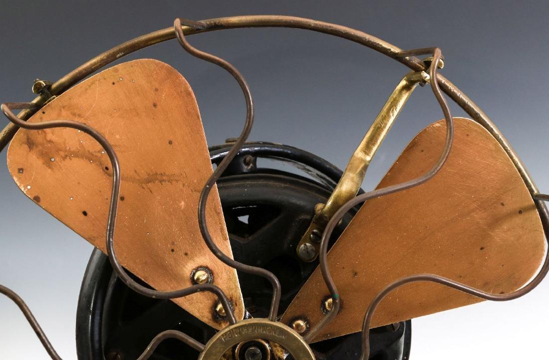 A MENOMINEE TAB-FOOT FAN, CIRCA 1912 - 2
