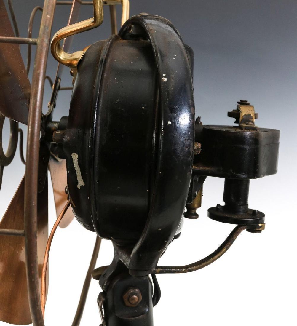 A MENOMINEE TAB-FOOT FAN, CIRCA 1912 - 7