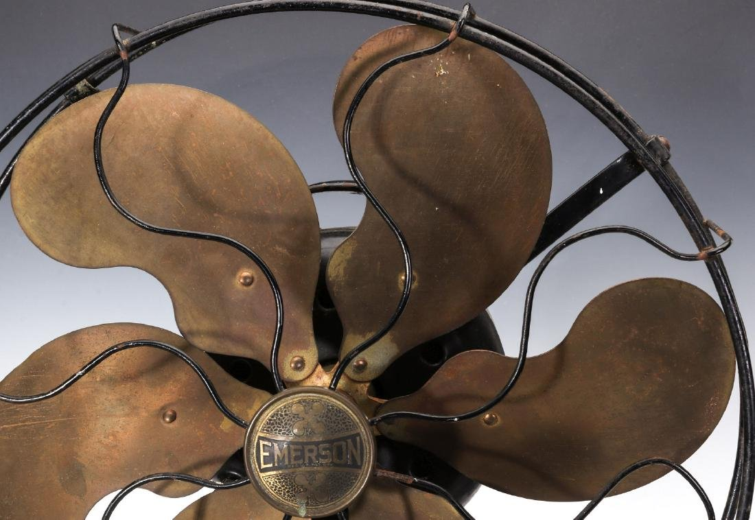 AN EMERSON FAN WITH SIX PARKER BLADES, CIRCA 1923 - 2