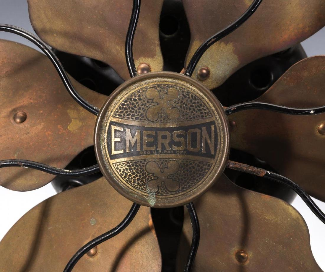 AN EMERSON FAN WITH SIX PARKER BLADES, CIRCA 1923 - 4