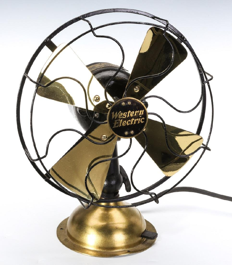 A CLEAN AND NICE WESTERN ELECTRIC FAN NO. 371069
