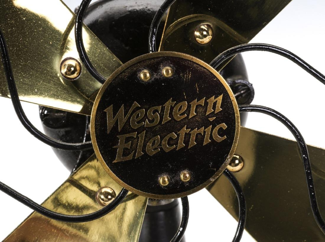 A CLEAN AND NICE WESTERN ELECTRIC FAN NO. 371069 - 4