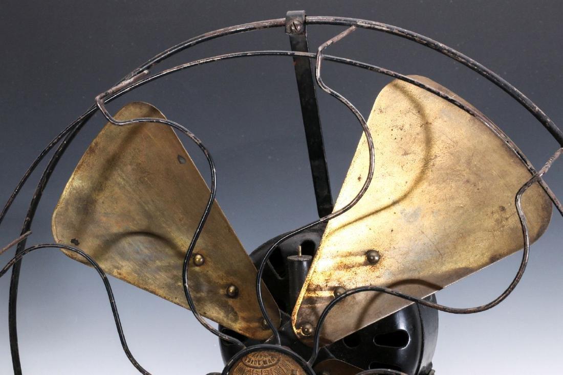 A GOOD ECK 'HURRICANE' AC OSCILLATING FAN C. 1915 - 2