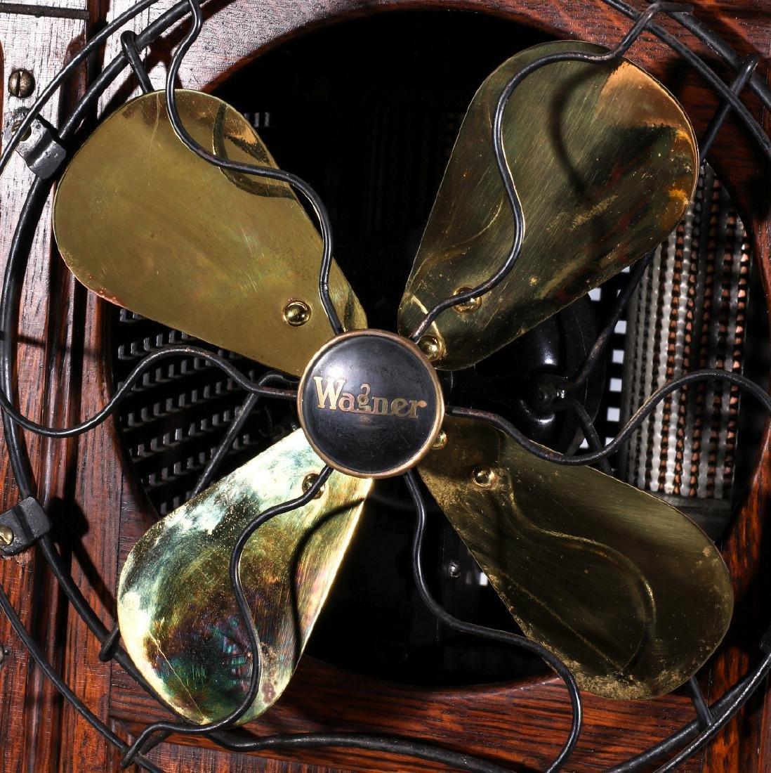 RARE OZONE PURE AIRIFIER FAN IN OAK CABINET C 1922 - 2