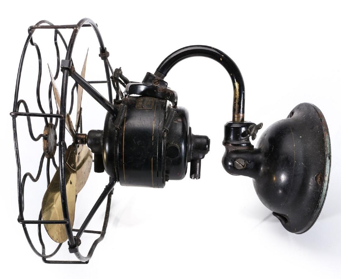 AN UNUSUAL WESTERN ELECTRIC WALL MOUNT FAN C. 1920 - 10