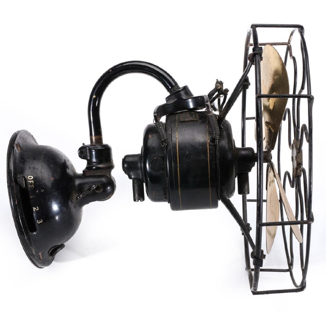 AN UNUSUAL WESTERN ELECTRIC WALL MOUNT FAN C. 1920