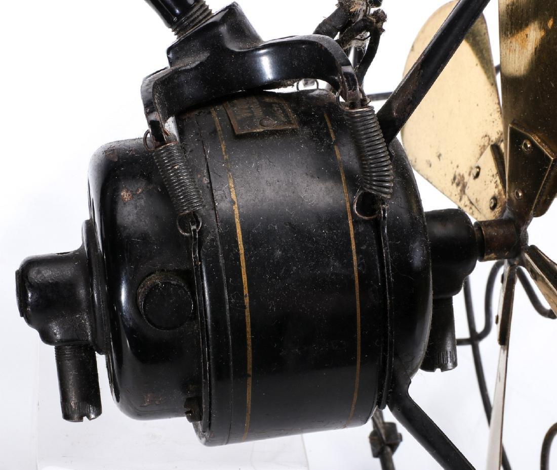 AN UNUSUAL WESTERN ELECTRIC WALL MOUNT FAN C. 1920 - 7