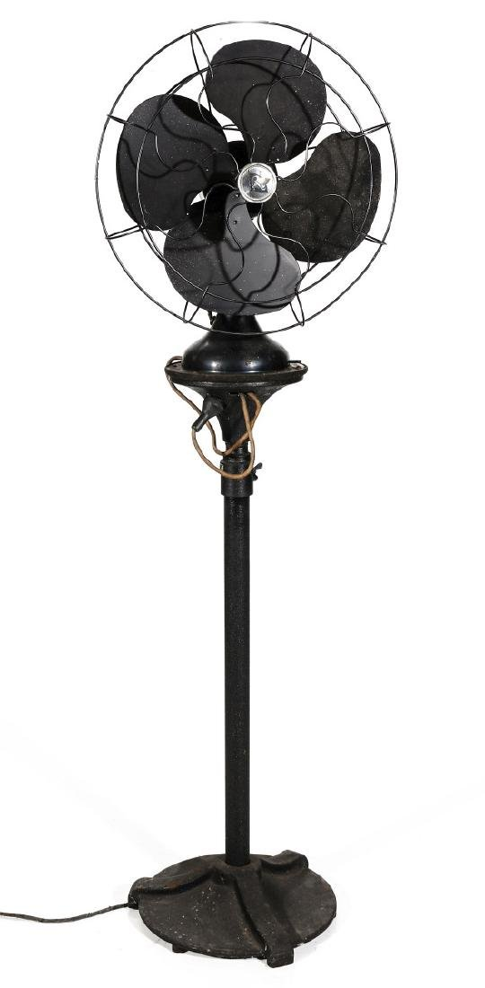 A ROBBINS & MYERS FLOOR STANDING FAN CIRCA 1930s - 2