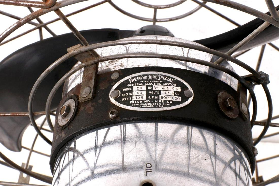 A FRESH'NDAIRE 'SPECIAL' COMMERCIAL FAN CIRCA 1950 - 7