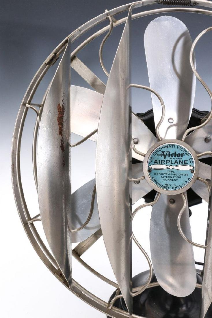A VICTOR CO. 'AIRPLANE' FAN WITH BREEZE SPREADER - 4