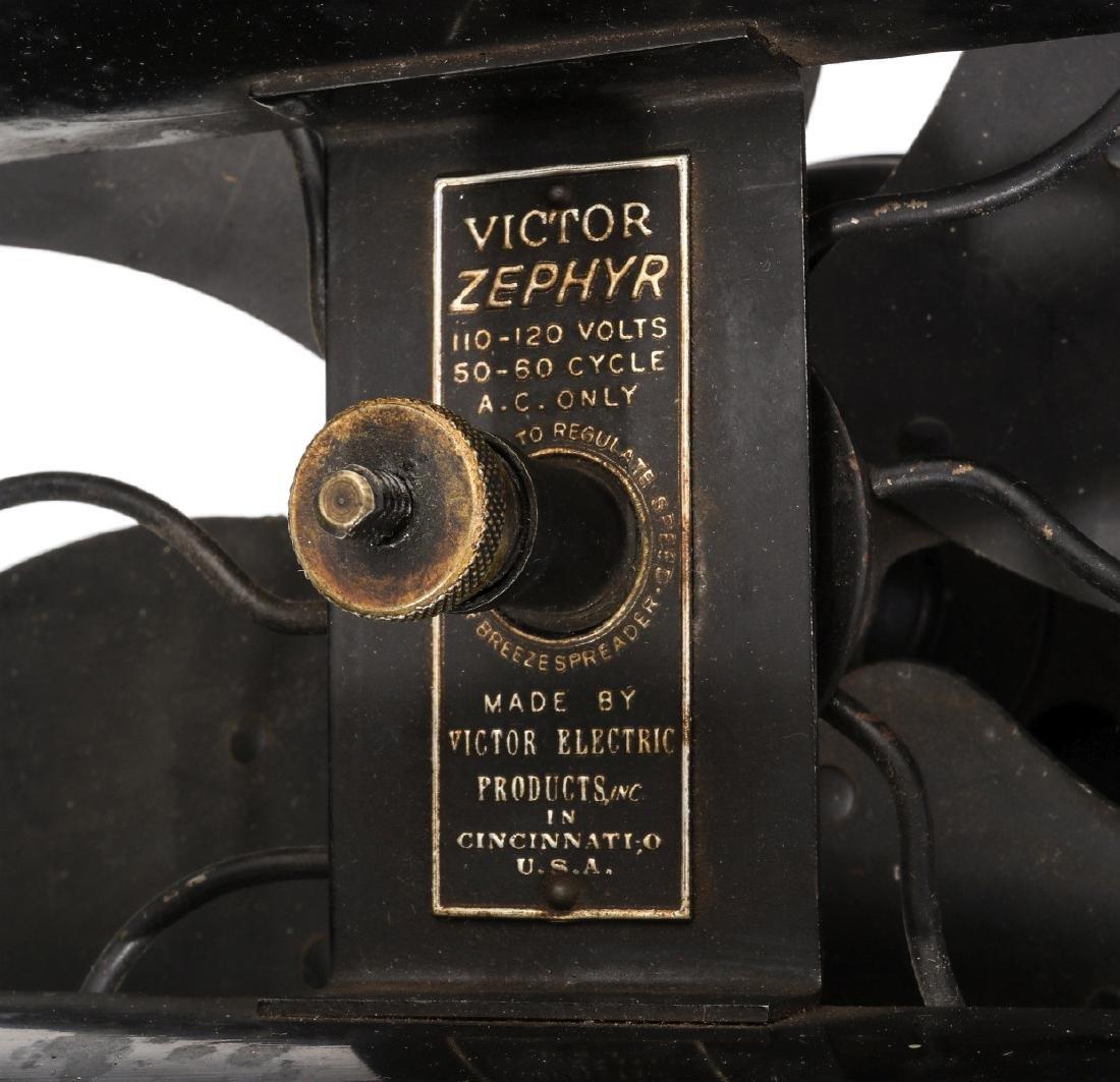 A VICTOR ZEPHYR HANGING / CEILING FAN CIRCA 1939 - 2