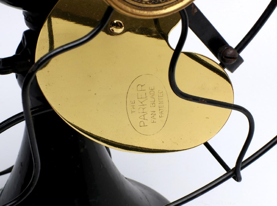 A SUPER CLEAN EMERSON ELECTRIC FAN CIRCA 1920 - 3