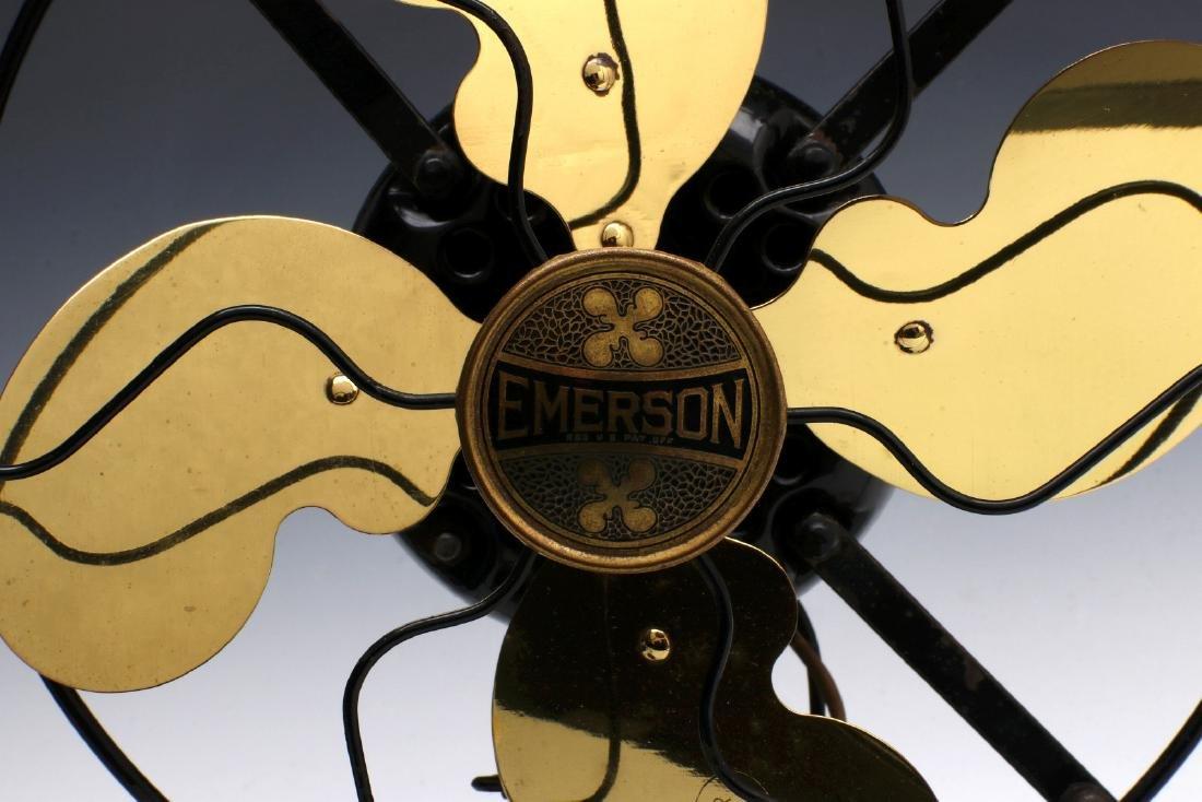 A SUPER CLEAN EMERSON ELECTRIC FAN CIRCA 1920 - 4
