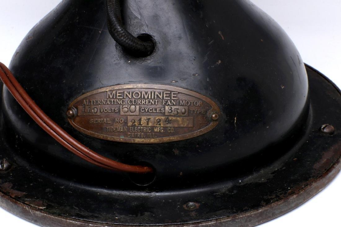 A MENOMINEE PANCAKE MOTOR FAN, CIRCA 1922 - 7