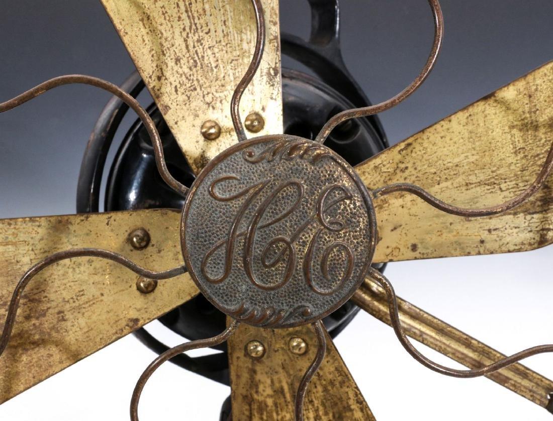 A HUNTER ELECTRIC FAN CIRCA 1901 - 4