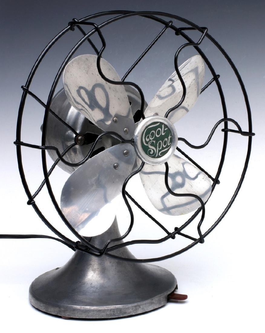 A SIGNAL COOL-SPOT ALUMINUM ELECTRIC FAN C. 1930s