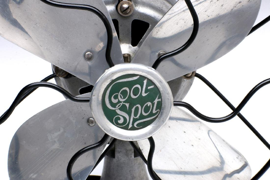A SIGNAL COOL-SPOT ALUMINUM ELECTRIC FAN C. 1930s - 3