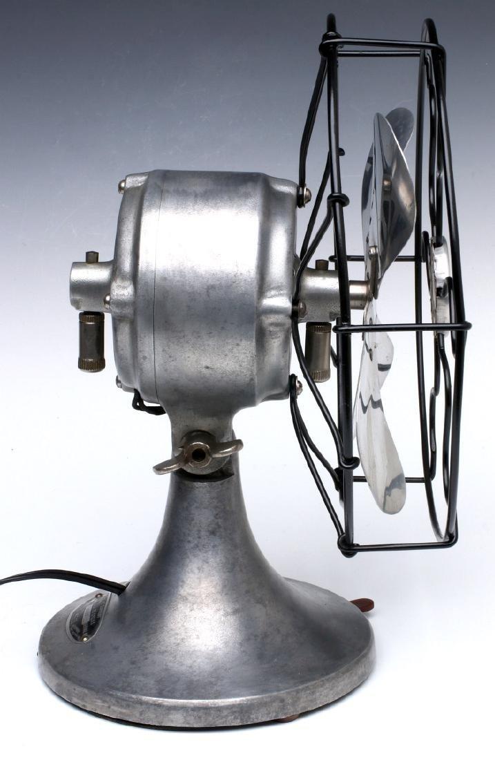 A SIGNAL COOL-SPOT ALUMINUM ELECTRIC FAN C. 1930s - 7