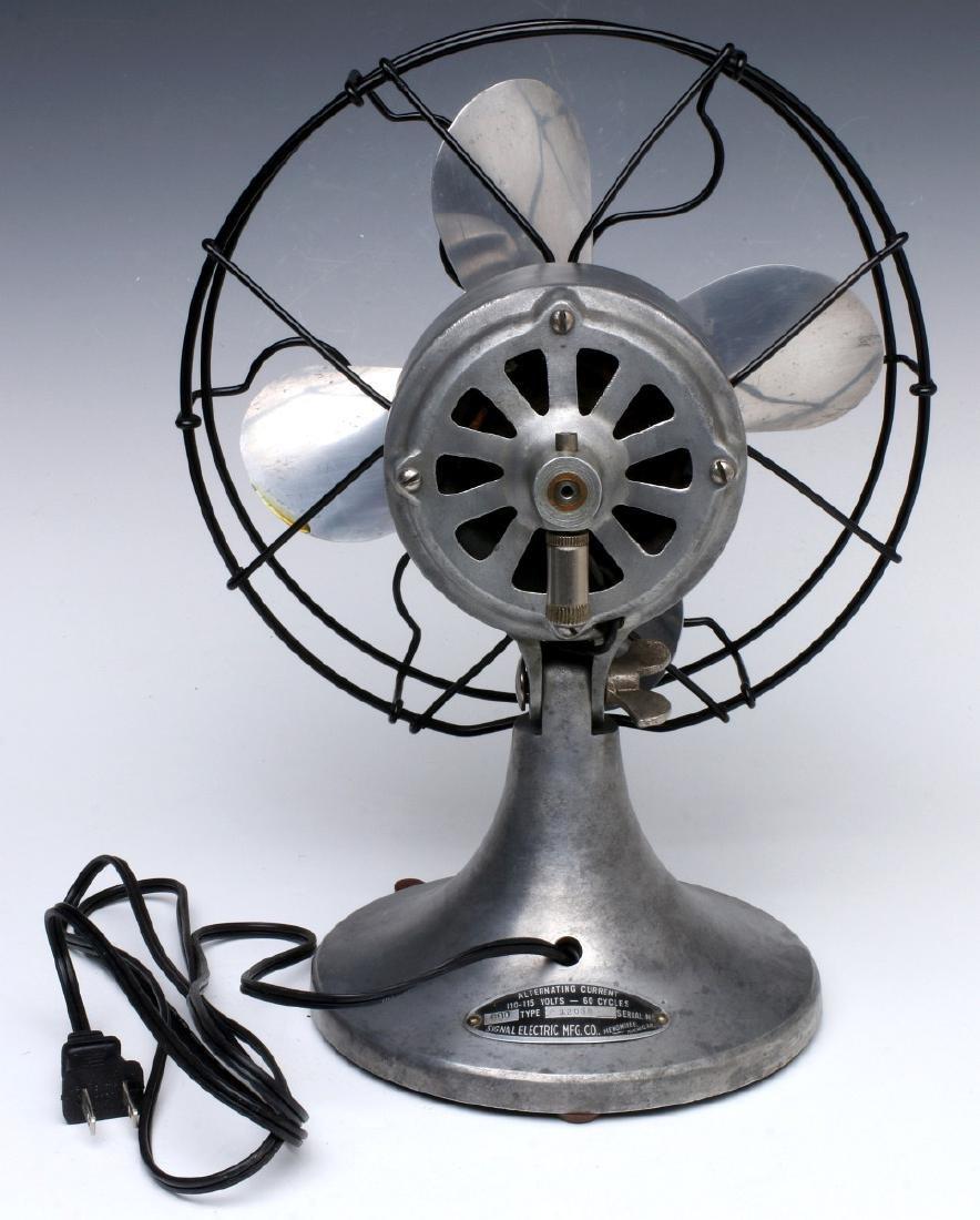 A SIGNAL COOL-SPOT ALUMINUM ELECTRIC FAN C. 1930s - 8