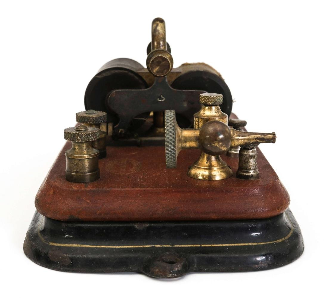 THREE MANHATTAN ELECTRICAL SUPPLY TELEGRAPH ITEMS - 7
