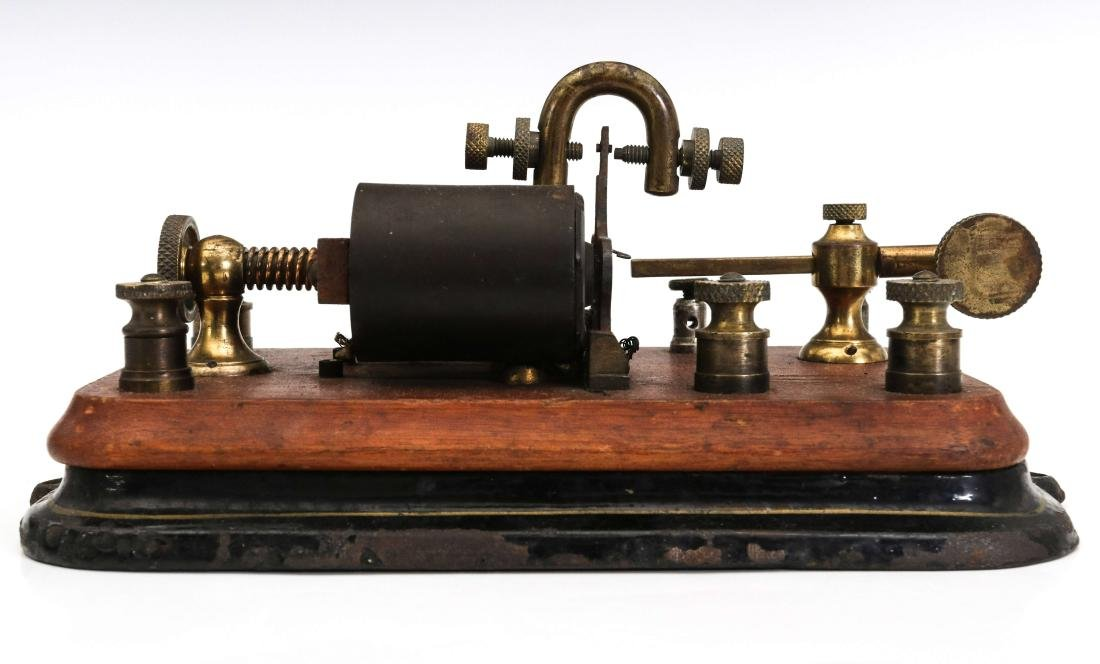 THREE MANHATTAN ELECTRICAL SUPPLY TELEGRAPH ITEMS - 9