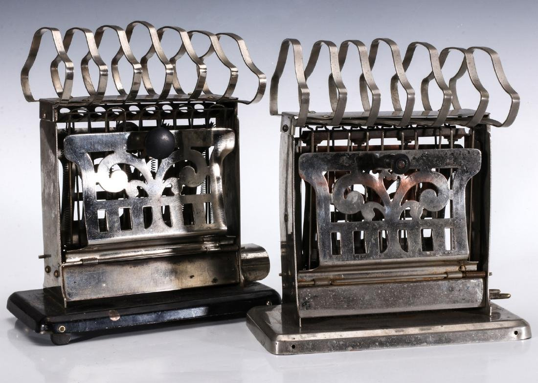 TWO MANNING BOWMAN ELECTRIC TOASTERS WITH RACKS