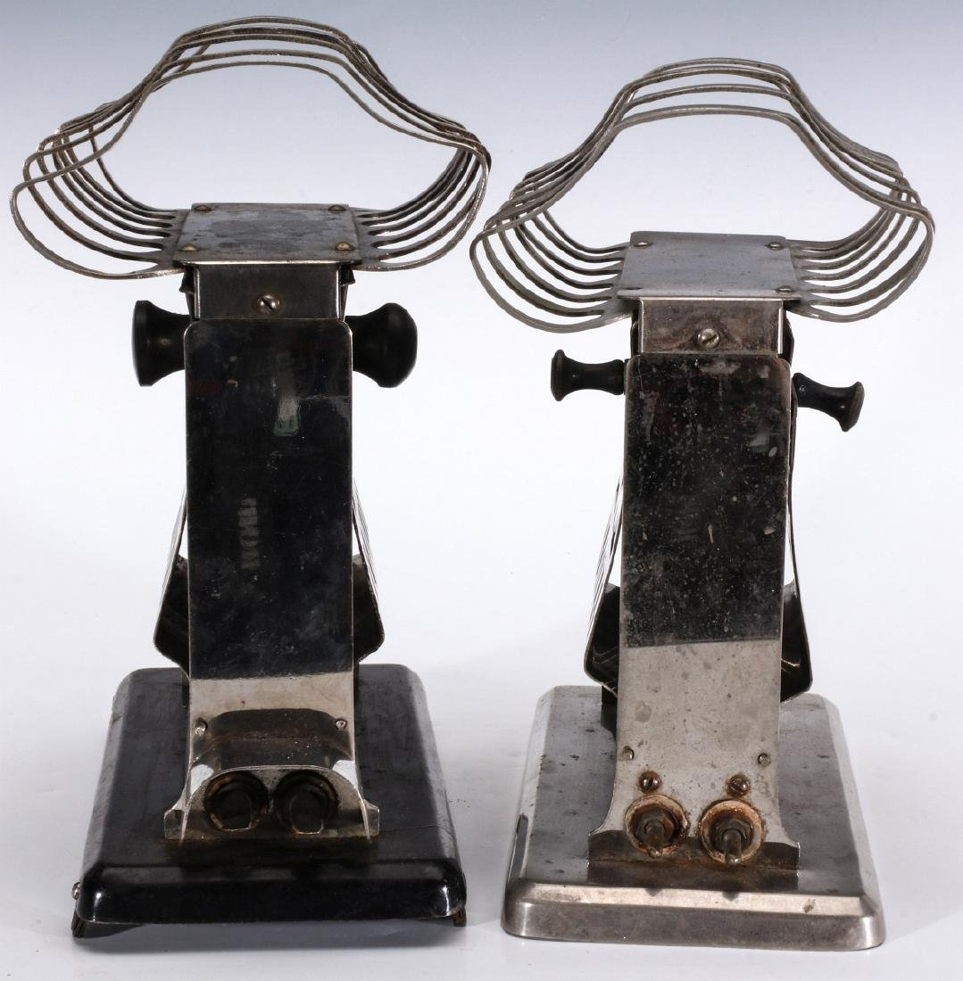 TWO MANNING BOWMAN ELECTRIC TOASTERS WITH RACKS - 8