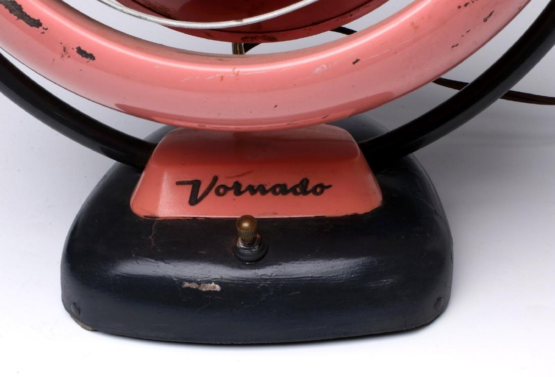 UNUSUAL VINTAGE PINK VORNADO 20C3-1R ELECTRIC FAN - 2