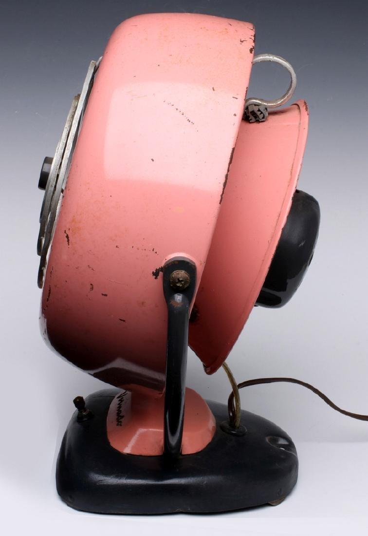 UNUSUAL VINTAGE PINK VORNADO 20C3-1R ELECTRIC FAN - 5