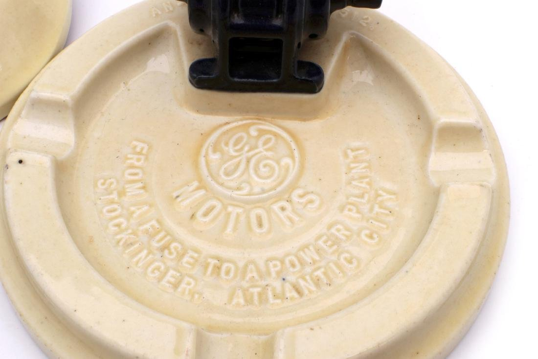 THREE GE ELECTRICAL MOTOR ADVERTISING ITEMS - 4