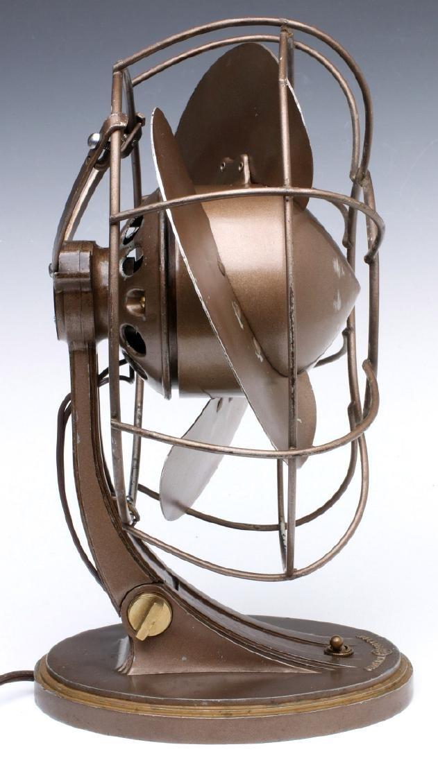 A GENERAL ELECTRIC ART DECO 'QUIET' FAN CIRCA 1932 - 10