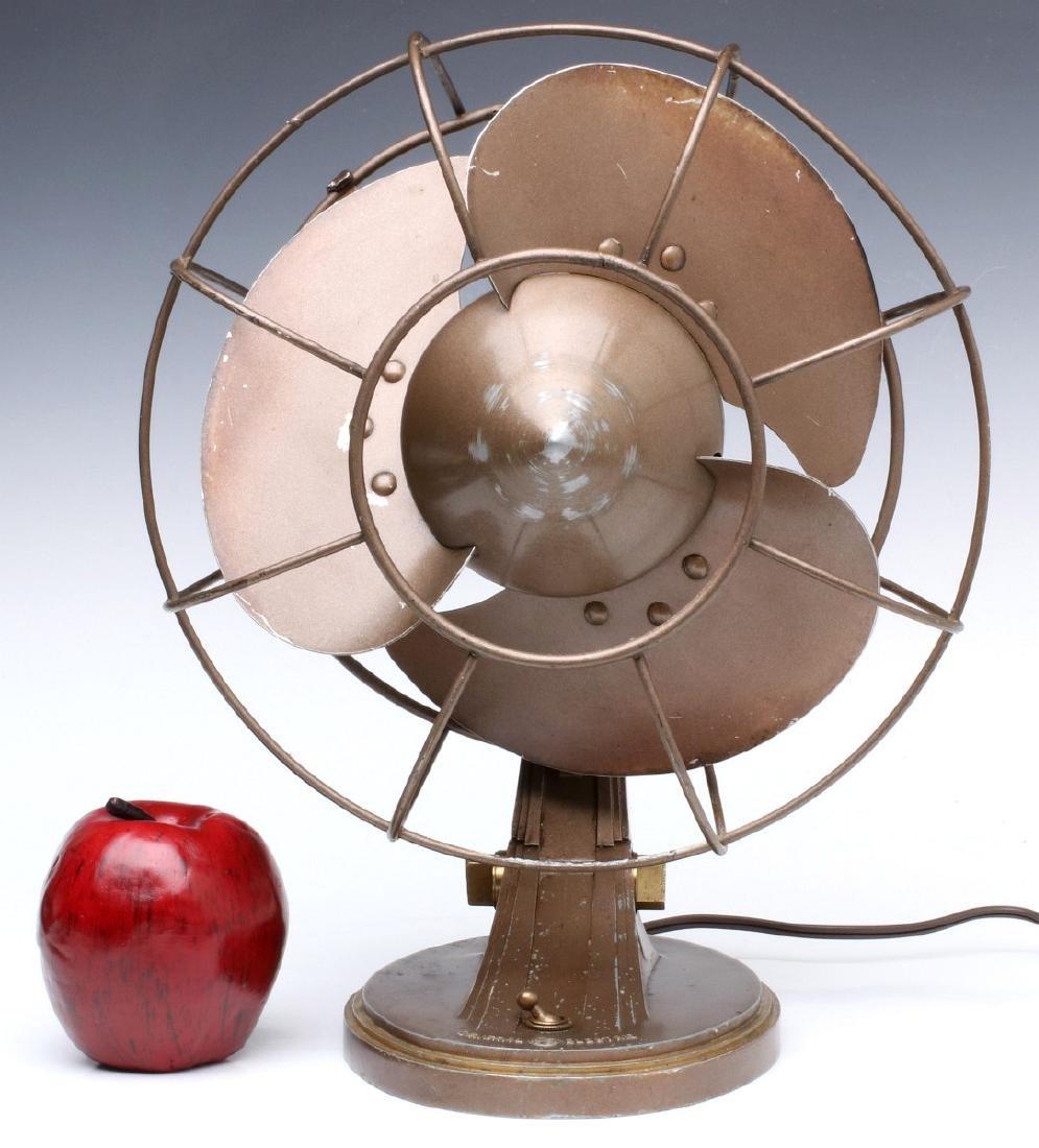 A GENERAL ELECTRIC ART DECO 'QUIET' FAN CIRCA 1932 - 2